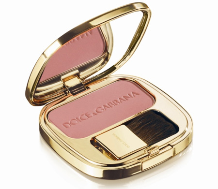 dolce gabbana the make up romantic collection fall 2009 luminous cheek colour in delight 35