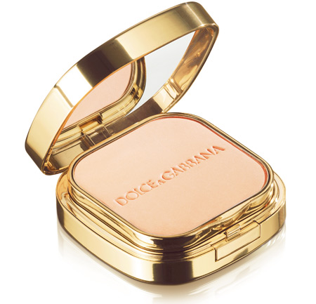 dolce gabbana the make up romantic collection fall 2009 perfect finish powder foundation in creamy 80
