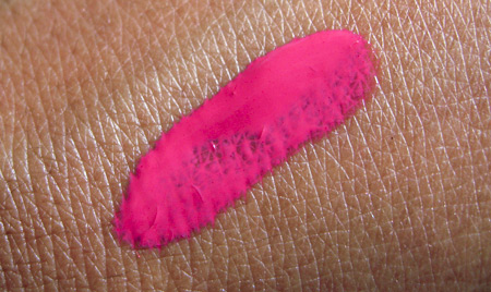 illamasqua makeup reviews intense lipgloss frenzy swatch