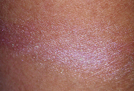 illamasqua swatches lies cream blusher