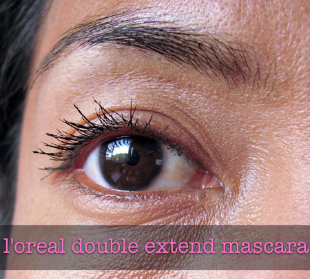 loreal double extend mascara review eye final
