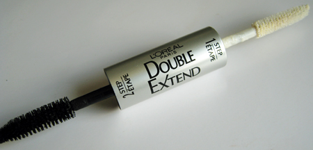 loreal double extend mascara review wands