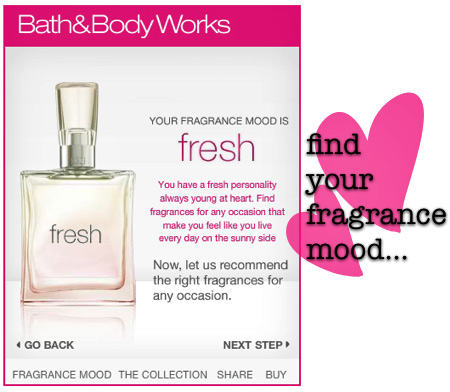 bath and body works find your fragrance 3