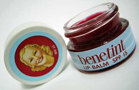 benetint lip balm review 1