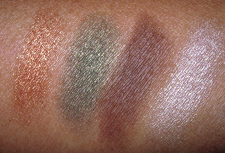 dolce and gabbana the makeup mediterraneo swatches