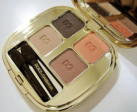 dolcegabbana nude eyeshadow quad