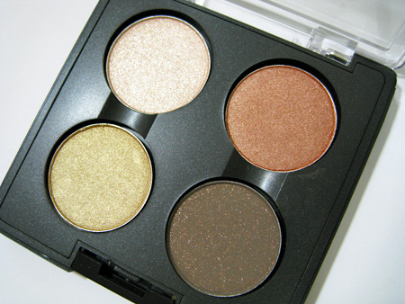 mac make up art cosmetics reviews eye shadow x 4 quad in notoriety