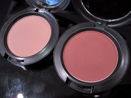 MAC Makeup Art Cosmetics Swatches Perfect Cheek Notable