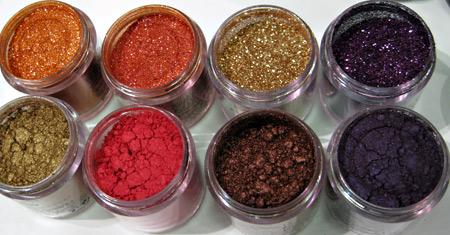 MAC Makeup Art Cosmetics Swatches Pigments