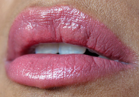 sonia kashuk velvety shine lip crayon review pale pink