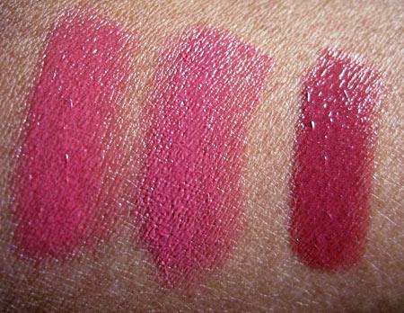 sonia kashuk velvety shine lip crayon swatches