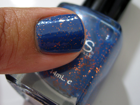 Barielle All Lacquered Up Swatches Falling Star
