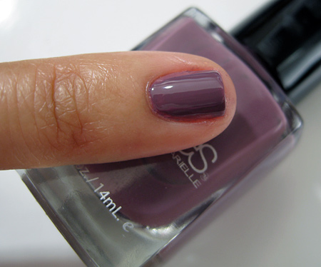 Barielle All Lacquered Up Swatches Get Mauve-ing