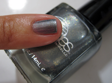 Barielle All Lacquered Up Swatches Out-Grey-Geous