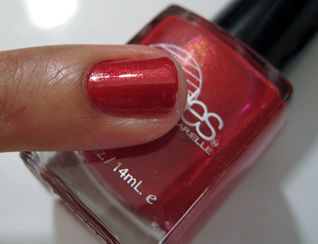 Barielle All Lacquered Up Swatches Pin Up