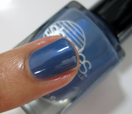 Barielle All Lacquered Up Swatches Slate of Affairs