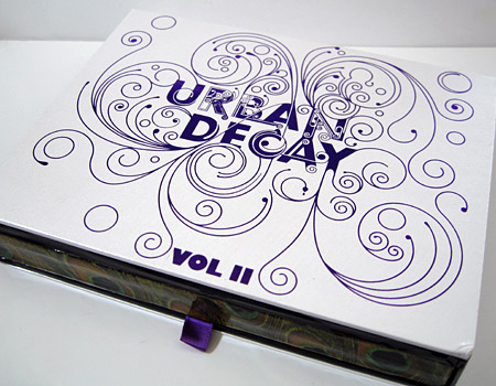 Urban Decay Book of Shadows Vol. II closed