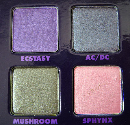 Urban Decay Book of Shadows Vol. II review 2