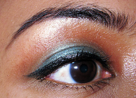 mac cosmetics tutorial fashion week look eye 1