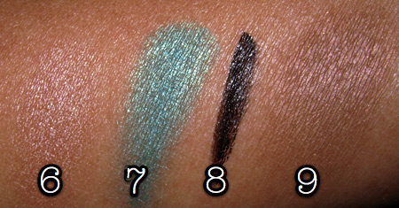 mac cosmetics tutorial fashion week look swatches 2