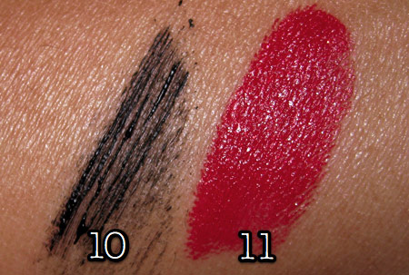 mac cosmetics tutorial fashion week look swatches 3
