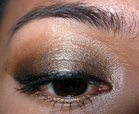 mac style black collection tutorial eye front