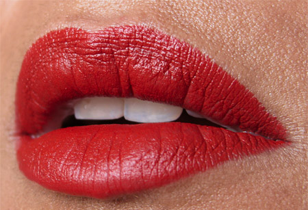 nars forbidden red velvet matte lip pencil