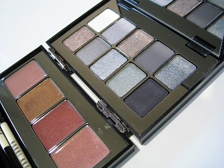 Bobbi Brown Chrome Palette Swatches Review open