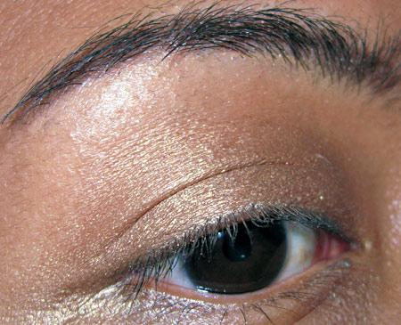 Bobbi Brown Earth Metal Palette Swatches Antique Gold Metallic eye-6