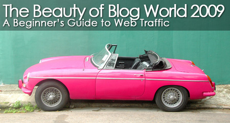 The Beauty of Blog World 2009: A Beginner's Guide to Web Traffic