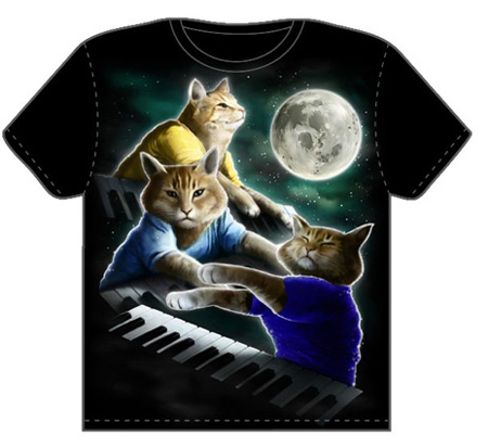 keyboard-cat-tee