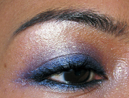 urban decay holday 2009 fotd homecoming look eye