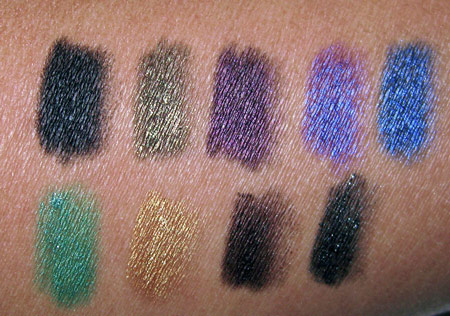 urban decay super stash swatches