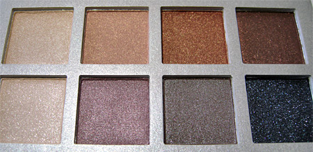 Lorac Silver Screen Palette Review shadows