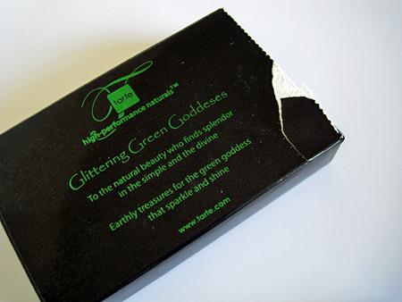 Tarte Crown Jewels Lipgloss Multi Gift Set Glittering Green Goddesses box