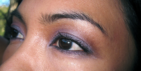 clinique black tie violets fotd eyes