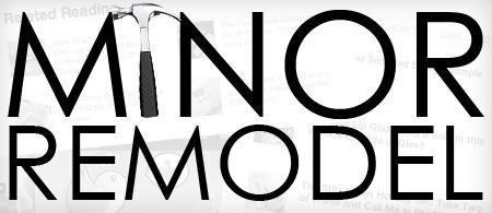 Minor blog remodel