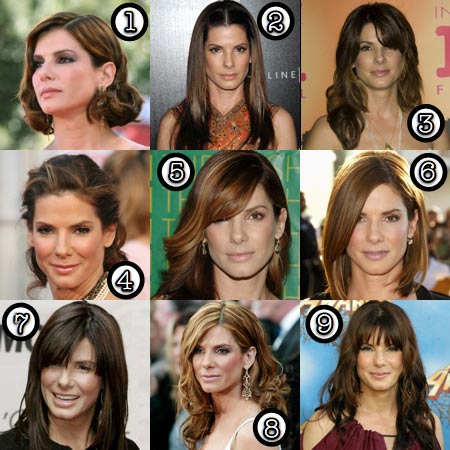 Sandra Bullock Her Best Hair Makeup And Beauty Blog