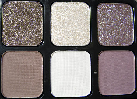 sonia kashuk starry eyes silver frame eye palette closeup
