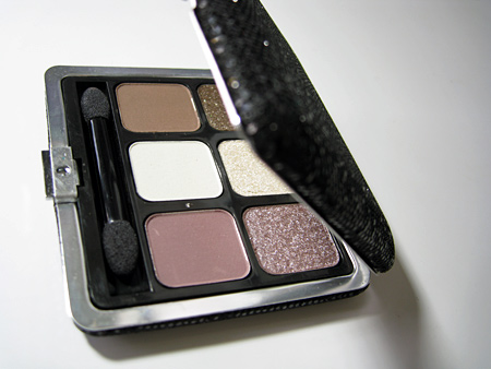 sonia kashuk starry eyes silver frame eye palette open