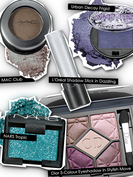 Eyeshadows for a night on the town