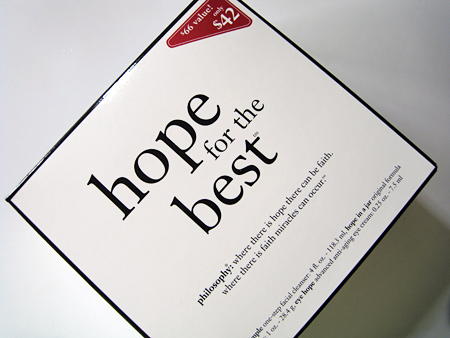 win philosophy hope for the best box 2