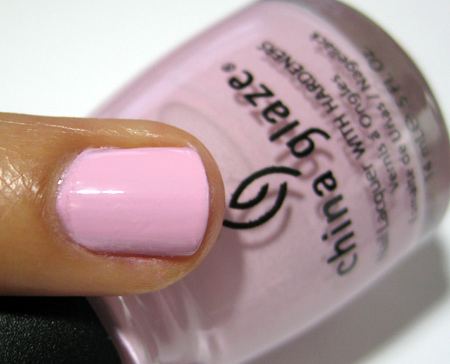 China Glaze Up and Away Swatches Review Photos Something Sweet 3