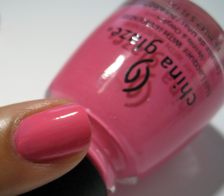 China Glaze Up and Away Swatches Review Photos Sugar High 2