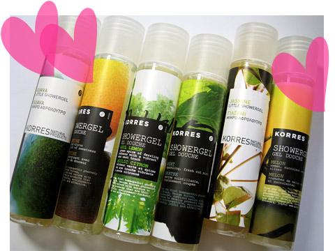 korres-never-too-many-showergels