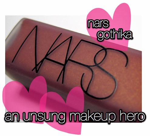 nars gothika lipgloss review