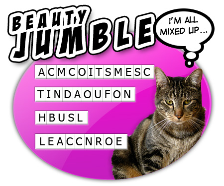 Beauty Word Jumble