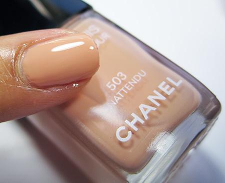 Chanel Particuliere Inattendu Les Impressions de Chanel Spring 2010 1