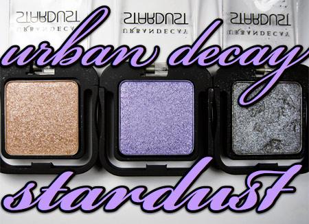 Urban Decay Stardust Eyeshadow Review