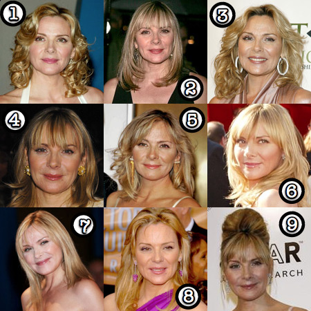 kim cattrall her best hair